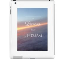 It's Leviosa! Harry Potter Hermione Quote- Purple Skies iPad Case/Skin