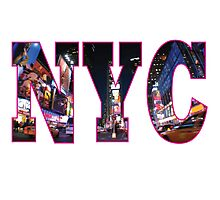NEW YORK Pink Photographic Print