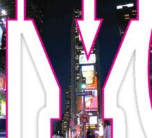NEW YORK Pink Sticker
