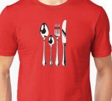 Silverware Set Unisex T-Shirt