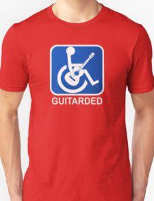 Guitarded Funny Guitar Design T-Shirt