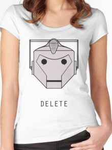 YOU WILL BE DELETED Women's Fitted Scoop T-Shirt
