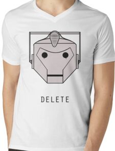 YOU WILL BE DELETED Mens V-Neck T-Shirt