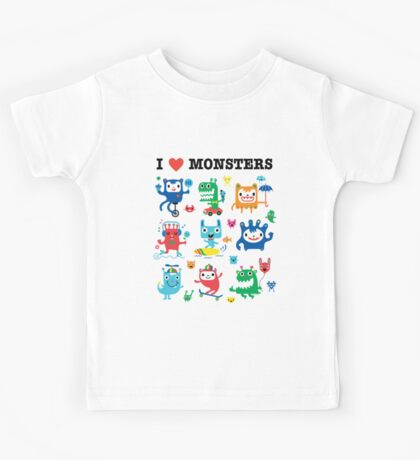 Monster Love Kids Clothes