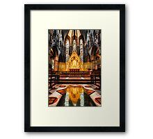 St Marys RC Cathedral Framed Print