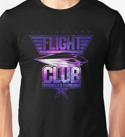 Flight Club (Galaxy) Unisex T-Shirt