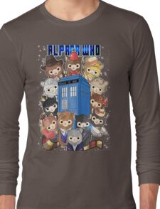 Alpaca Who Long Sleeve T-Shirt