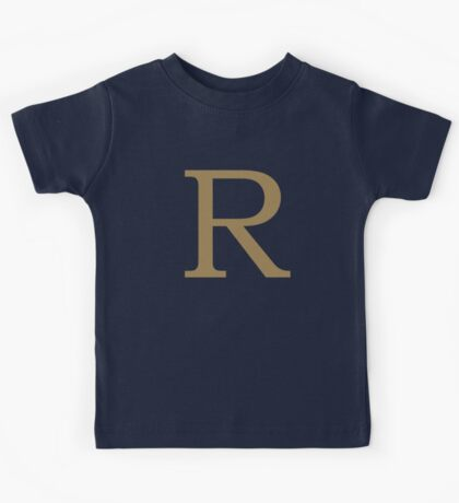 Weasley Sweater - R (All letters available!) Kids Tee