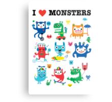 Monster Love Metal Print