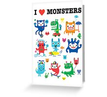 Monster Love Greeting Card