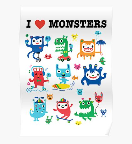 Monster Love Poster