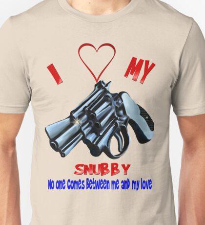 I Love My Snubby Unisex T-Shirt