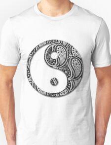 Paisley Yin Yang Yin Yang T-Shirt