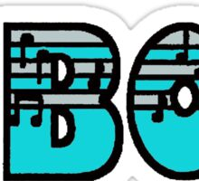 Oboe Silver & Turquoise I Sticker