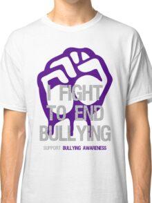 I Fight To End Bullying Indigo Classic T-Shirt
