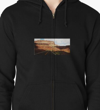 Vermillion Cliffs Zipped Hoodie
