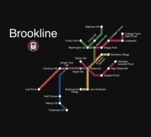 Brookline (white) by Rajiv Ramaiah