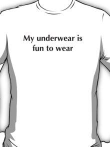 Funny t-shirt 14 (black text) T-Shirt