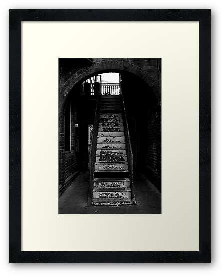 secret stairway. by ONE3ONE