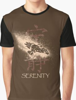 Firefly Serenity Silhouette Graphic T-Shirt
