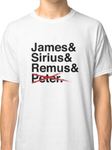 James & Sirius & Remus & X. Classic T-Shirt