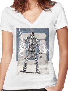 Dekkion, Dungeons & Dragons cartoon Women's Fitted V-Neck T-Shirt