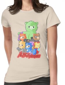 Alpacas Assemble Womens Fitted T-Shirt