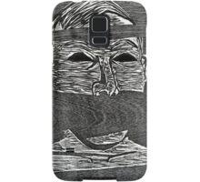 Woodcut Print by Eddie Garland Samsung Galaxy Case/Skin