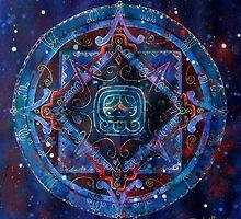 Akbal Mandala by Tania Williams