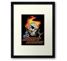 Ride Johnny Ride Framed Print
