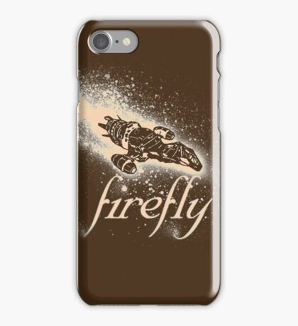 Firefly Silhouette iPhone Case/Skin