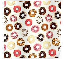 Delicious Donuts Poster