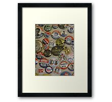Vote 4 Me Framed Print