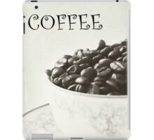 COFFEE iPad Case/Skin
