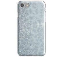 Frost on a window iPhone Case/Skin