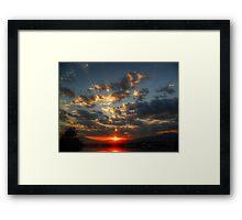 ©HCS Listen The Clouds Framed Print