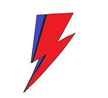 Bowie Lightning by kristenlaneart