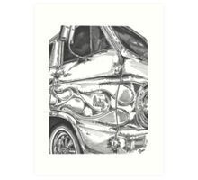 DODGE van Art Print