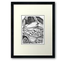DODGE van Framed Print