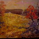 Australian Landscape by Richard  Tuvey