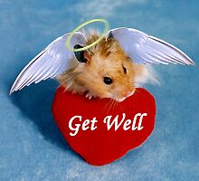 Get Well Hamster by jkartlife