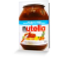 Nutella is My Friend Greeting Card