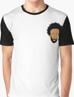 Childish Gambino / Donald Glover Vector Illustration Drawing small Graphic T-Shirt