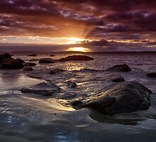 Taroona Beach Sunrise, Tasmania #13 by Chris Cobern