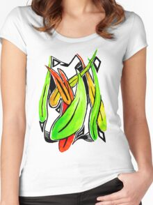 Gum leaves Women's Fitted Scoop T-Shirt