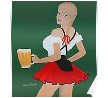 Beer wench Poster