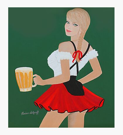 Beer wench Photographic Print