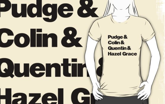 John Green's Characters Ampersand T-shirt by syrensymphony