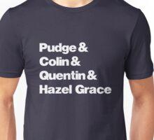 John Green's Characters Ampersand T-shirt v.2 Unisex T-Shirt