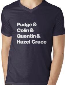 John Green's Characters Ampersand T-shirt v.2 Mens V-Neck T-Shirt